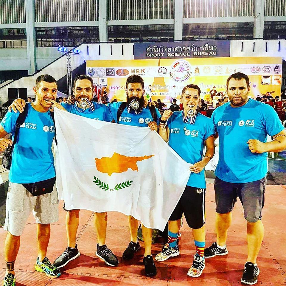 Η Λάρνακα και η Κύπρος στα ψηλότερα σκαλοπάτια των Παγκοσμίων Αγώνων Muay Thai