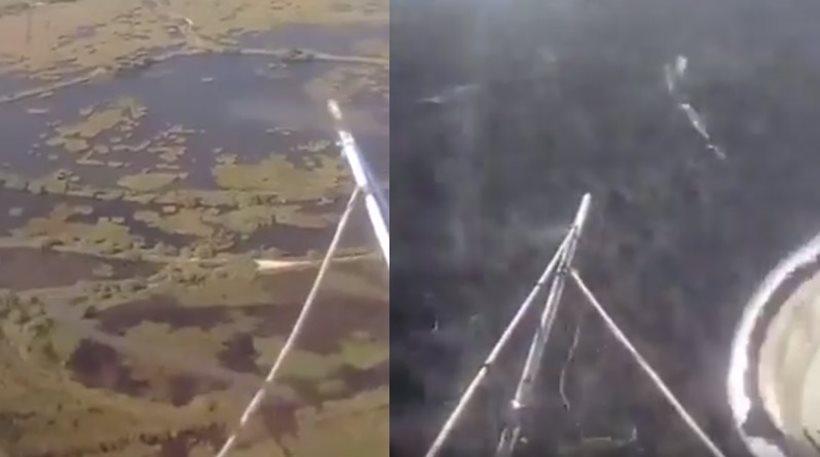 ΒΙΝΤΕΟ-ΣΟΚ: Η πτώση του ελικοπτέρου στον Σχοινιά μεταδιδόταν live στο Facebook