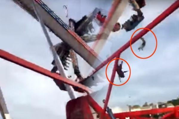 Βίντεο-σοκ: Δυστύχημα σε λούνα πάρκ στο Οχάιο