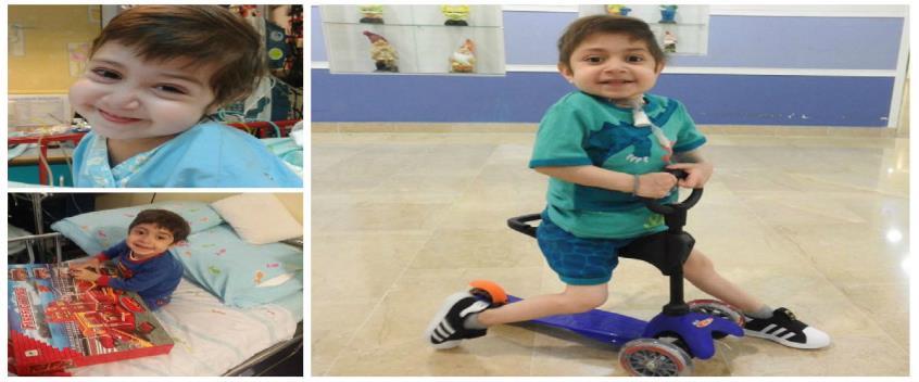 Έξι χρονών γίνεται σήμερα ο Λάμπρος – Θα τα γιορτάσει ξανά στο Ισραήλ όπου νοσηλεύεται