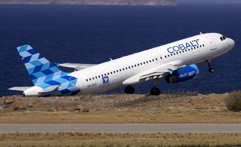 H Cobalt εγκαινιάζει νέο δρομολόγιο από την Κύπρο – Όλες οι λεπτομέρειες