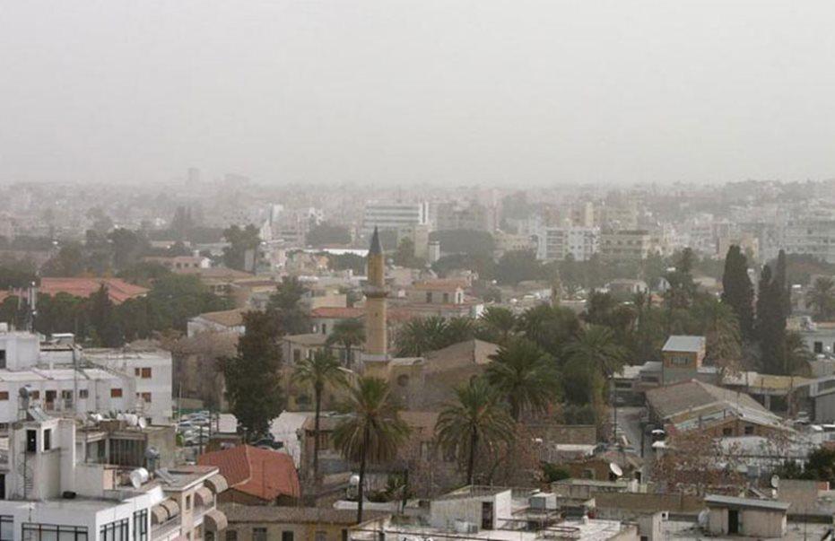 Σκόνη απο Δευτέρα ως Τετάρτη και άνοδο θερμοκρασίας αντί για βροχές