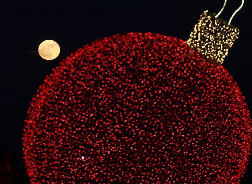 Μάγεψε η τελευταία υπερπανσέληνος του 2017 (ΦΩΤΟ)