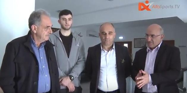 Επίσκεψη Κυπριακής Ομοσπονδίας Καλαθοσφαίρισης στον Άγιο Λάζαρο και Άγιο Γεώργιο