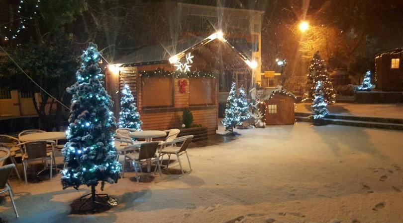 Το πιο παγωμένο χριστουγεννιάτικο χωριό στην Κύπρο έβγαλε πρόγραμμα