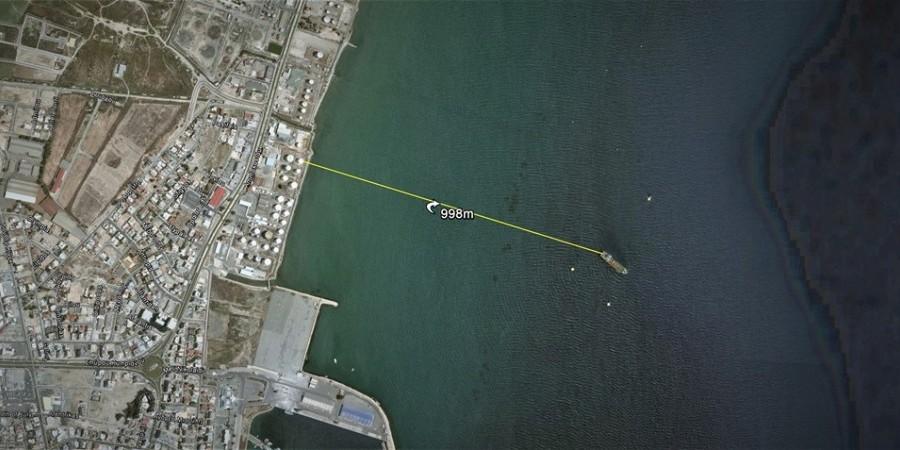 """""""Το πλοίο-βόμβα στη Λ/κα σε απόσταση αναπνοής από υγραέριο"""""""