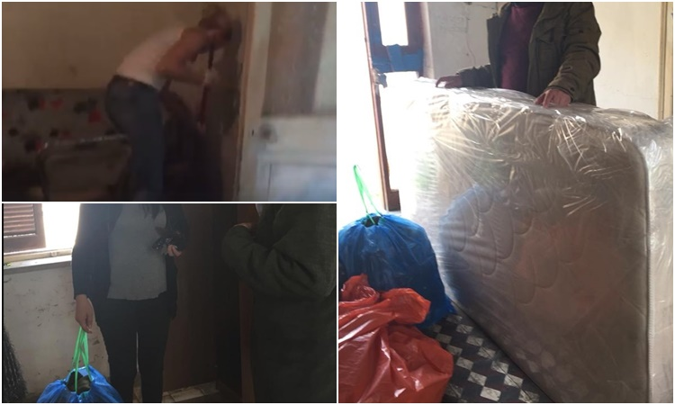 Συγκινεί η ανταπόκριση του κόσμου για τον κύριο Γιώργο που ζει σε άθλιες συνθήκες στη Λάρνακα (pics& video)