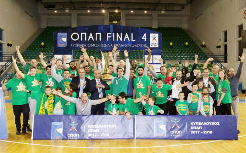 Κυπελλούχος Κύπρου Καλαθόσφαιρας για δεύτερη χρονιά η ΑΕΚ Λάρνακας