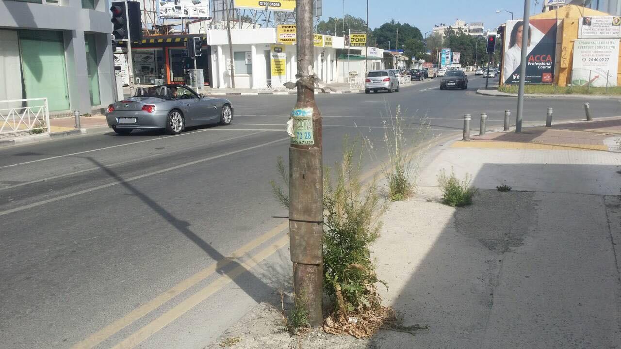 Ο Σκαλιώτης βγήκε στους δρόμους: «Ξεχορτίστε τη 'βιτρίνα' της Λάρνακας»