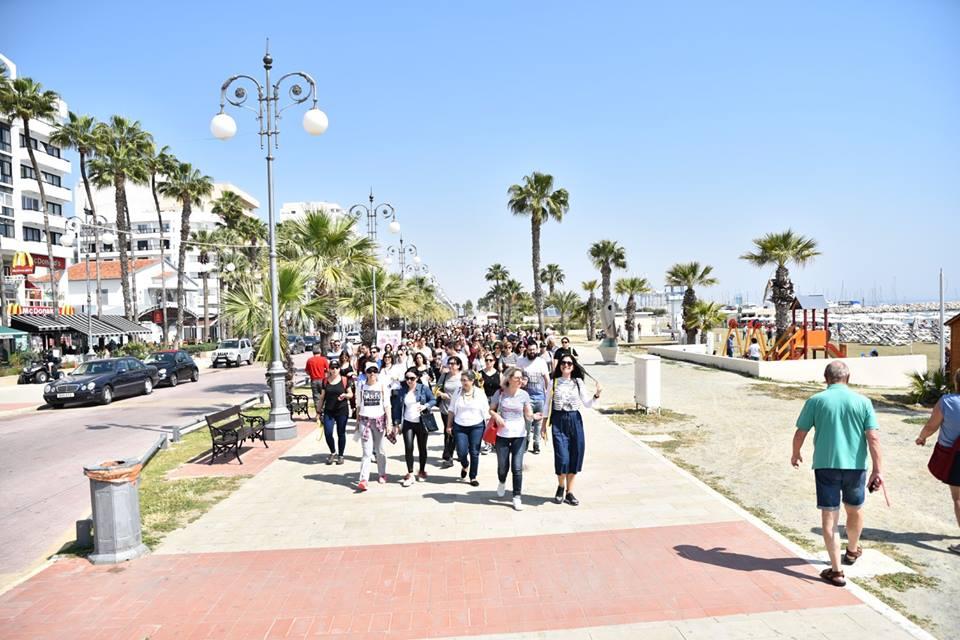 Με επιτυχία πραγματοποιήθηκε το Discover Larnaka Open Walk
