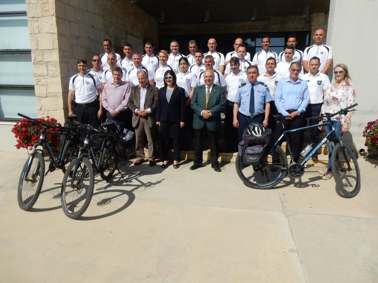 Διοργανώθηκε στο Ζύγι το πρώτο ειδικό σεμινάριο για Ποδηλάτες –Αστυνομικούς