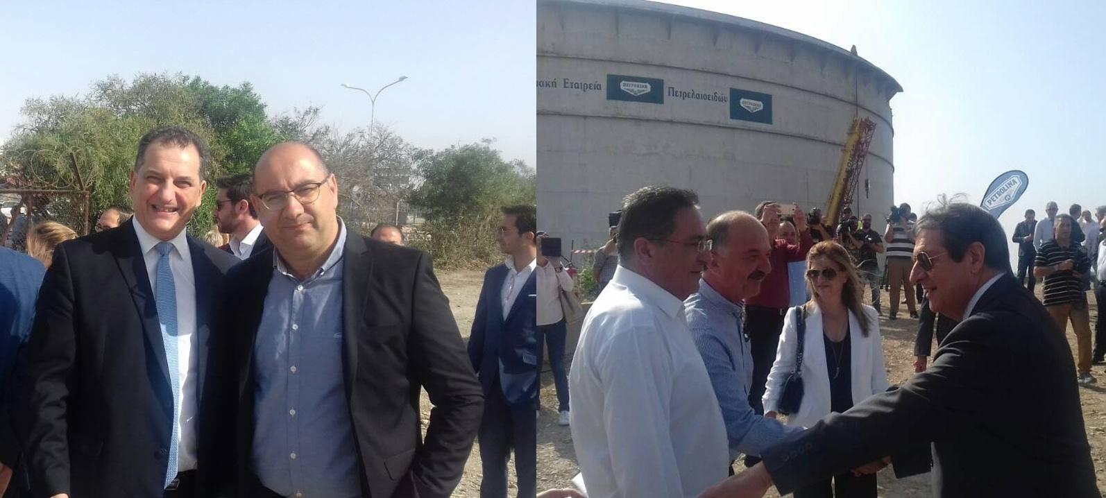 Έφτασε στη Λάρνακα ο Πρόεδρος της Δημοκρατίας Νίκος Αναστασιάδης (pics)