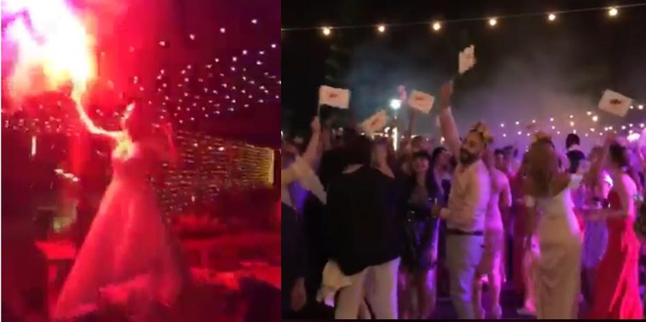 Αυτός ο γάμος στη Λάρνακα γλέντησε αλά FUEGO! (video)