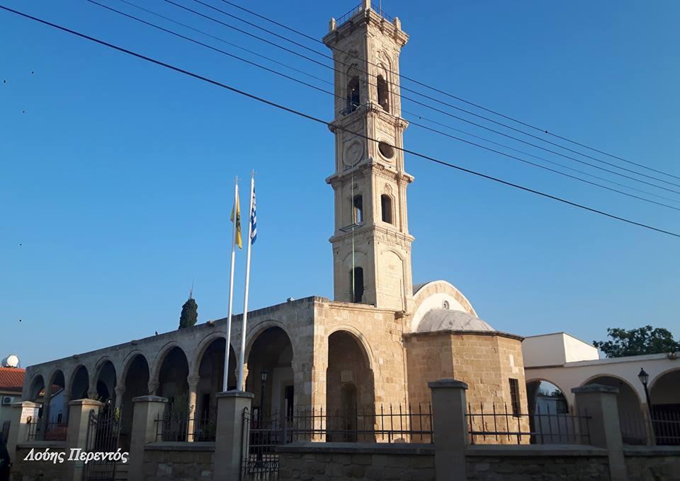 Το καμπαναριό της εκκλησίας Αγίου Ιωάννη του Θεολόγου στη Λάρνακα (pics)