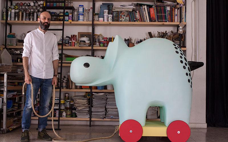 Ο Σπύρος Αγαθού μιλά για τη συμμετοχή του στο πρότζεκτ «Let's Hippo»