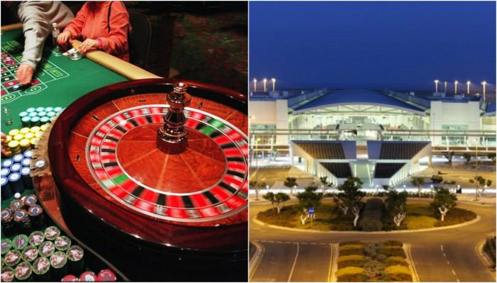 Κάνουν καζίνο στο αεροδρόμιο Λάρνακας