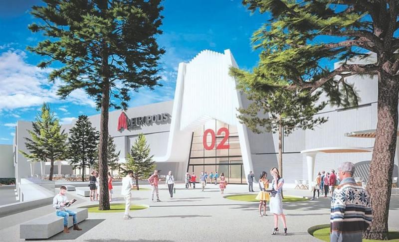 Το υπουργικό άναψε πράσινο στο Metropolis Mall Λάρνακας