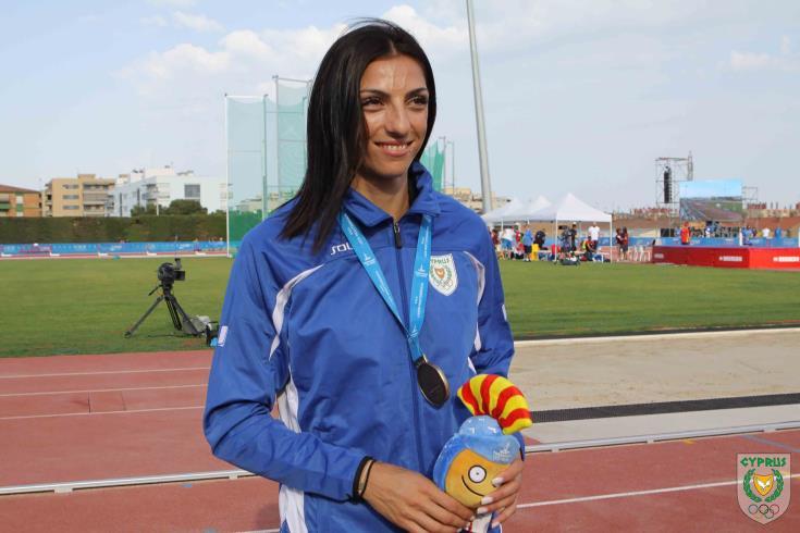 Νέο Παγκύπριο ρεκόρ από την Ελένη Αρτυματά