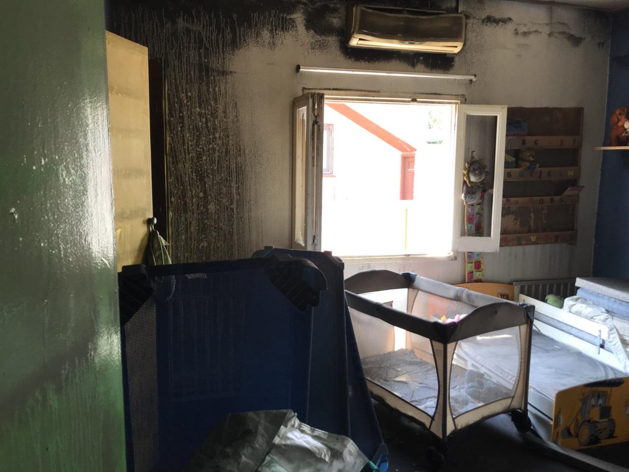 ΛΑΡΝΑΚΑ : Μεγάλες ζημιές στο νηπιαγωγείο που έγινε στόχος εμπρηστών