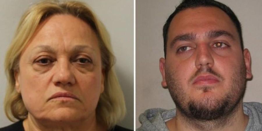ΗΒ:Στη φυλακή Κύπρια μάνα και γιος – Είχαν στήσει κύκλωμα κοκαΐνης