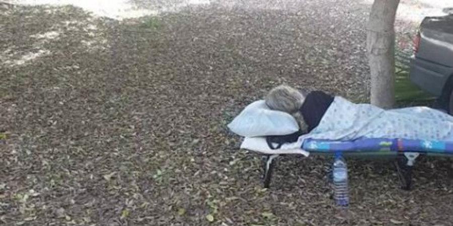 ΛΑΡΝΑΚΑ: 50χρονος Κύπριος κοιμάται σε δάσος – Δεν έχει σπίτι να μείνει – VIDEO