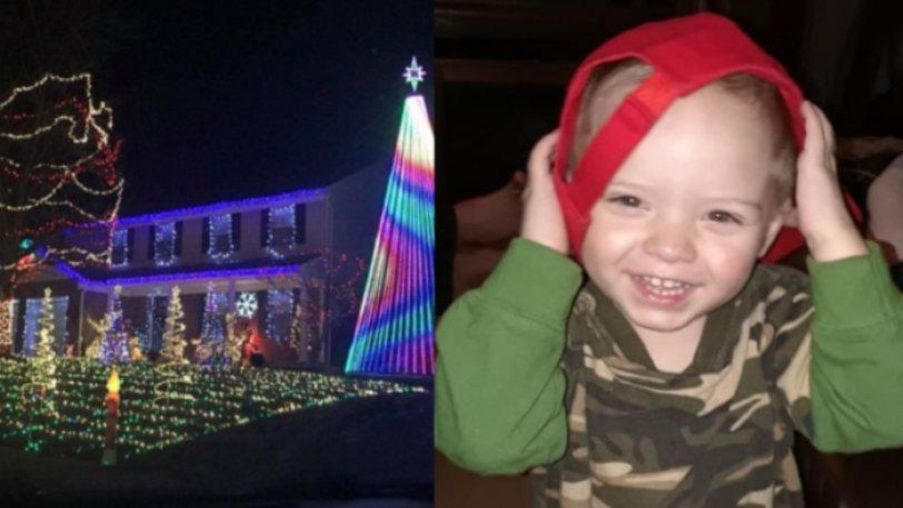 Μία ολόκληρη πόλη γιορτάζει πρόωρα τα Χριστούγεννα για χάρη άρρωστου παιδιού (pics & vid)