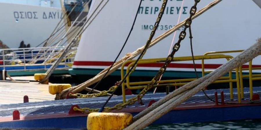 Δεμένα τα πλοία στα λιμάνια της Ελλάδας λόγω απεργίας