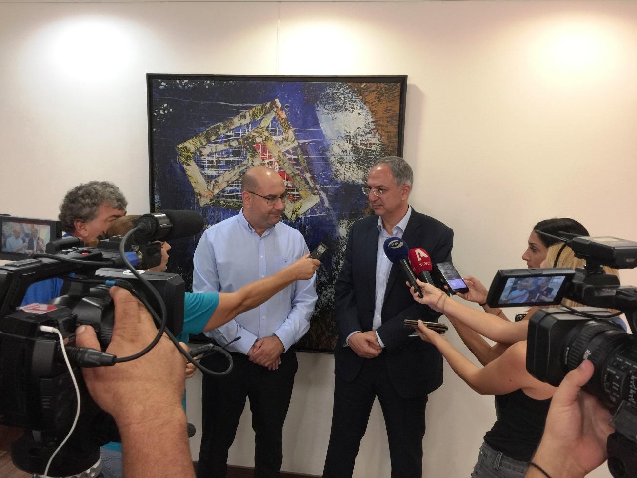 Επίσκεψη του Υπουργού Γεωργίας, Αγροτικής Ανάπτυξης και Περιβάλλοντος κ. Κώστα Καδή στο Δήμο Λάρνακας