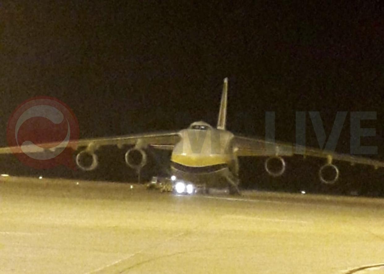 Σήμα για βοήθεια εξέπεμψε αεροσκάφος στο Αεροδρόμιο Λάρνακας (pic)