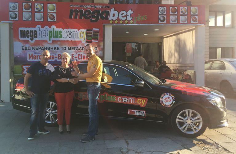 Megabet Plus: Παραδόθηκε το αυτοκίνητο στο μεγάλο τυχερό
