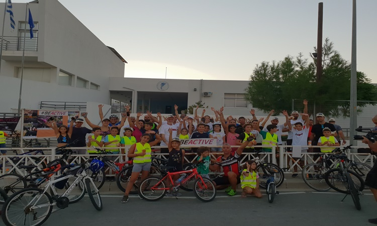 Με επιτυχία πραγματοποιήθηκαν οι εκδηλώσεις για την Ευρωπαϊκή Εβδομάδα Αθλητισμού στον Δήμο Αθηένου (pics)