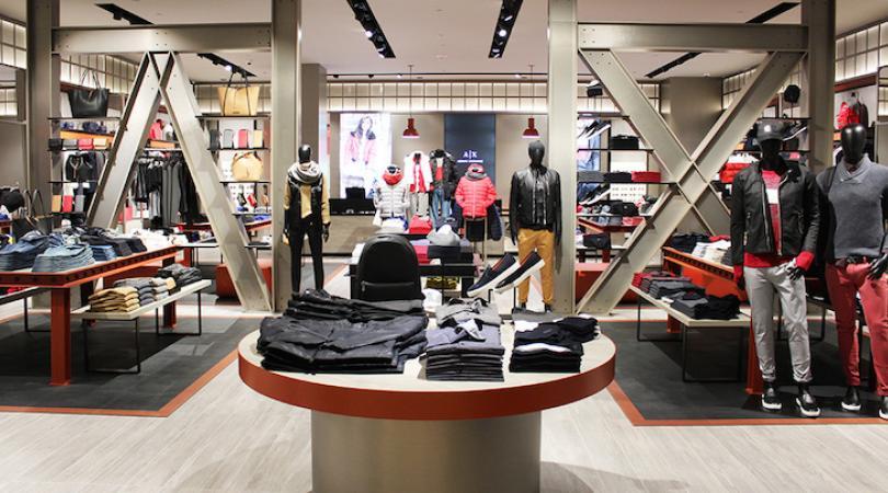 Το δεύτερο κατάστημα Armani Exchange στην Κύπρο, ετοιμάζεται να ανοίξει τις πόρτες του