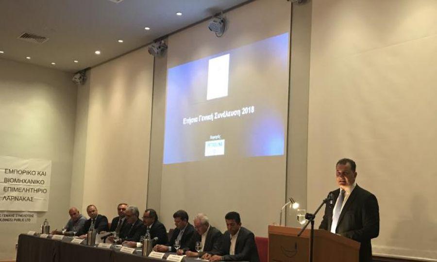 Υπουργός Ενέργειας : «Η Λάρνακα γύρισε σελίδα τα τελευταία χρόνια»