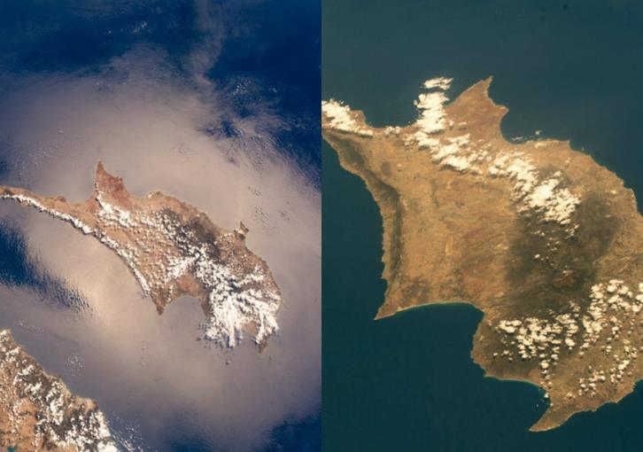 Αστροναύτης φωτογράφισε την Κύπρο από το διάστημα (εικόνες)