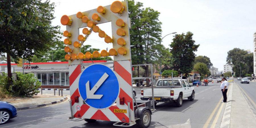 Εργασίες στο οδικό δίκτυο στη Λάρνακα – Ενημερωθείτε για αποφυγή ταλαιπωρίας