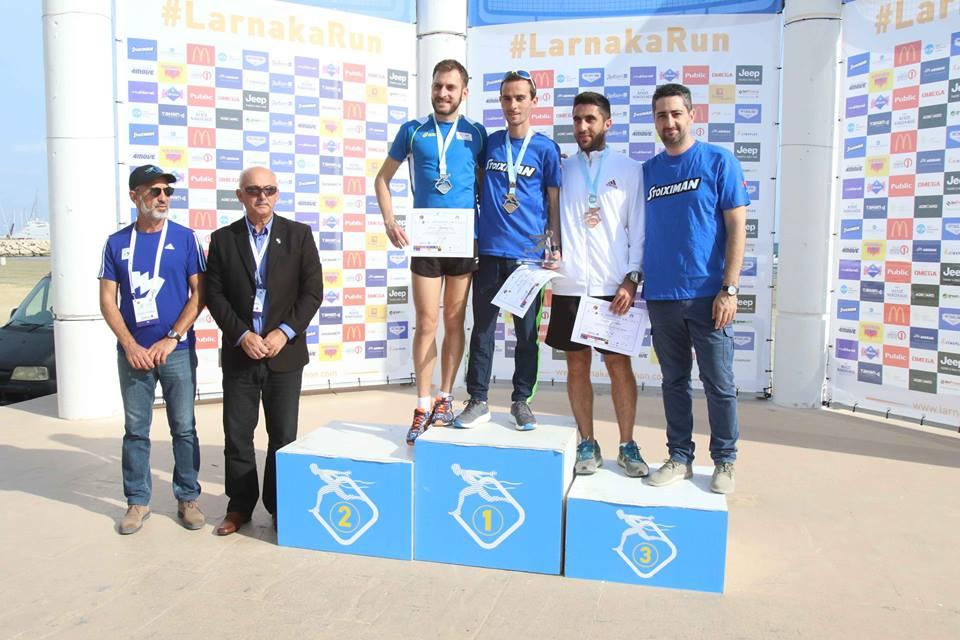 και η Ζωή Ανδρικοπούλου (2η στα 10 χλμ.)! Αξίζει να σημειωθεί πως ο Χρήστος  Καλλίας ήταν και πέρυσι νικητής στα 5 χλμ. κάνοντας το back2back. 8fae6e4e043