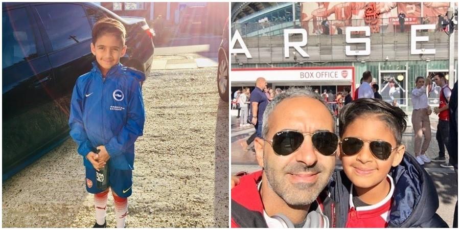 8χρονος Κύπριος τυφλώθηκε και 1 χρόνο μετά κάνει τ'όνειρό του(pic)