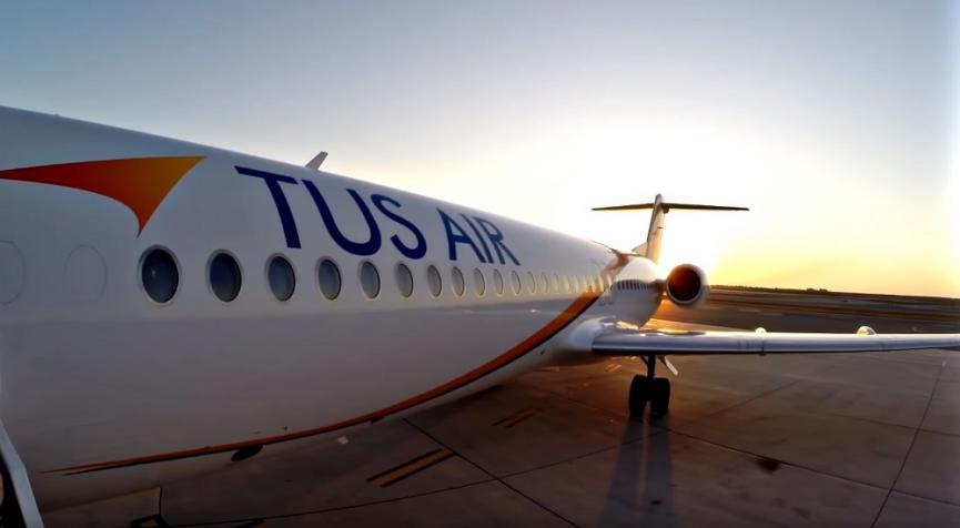 TUS Airways: Ζητά 800.000 ευρώ από την Κυβέρνηση για να μην κλείσει