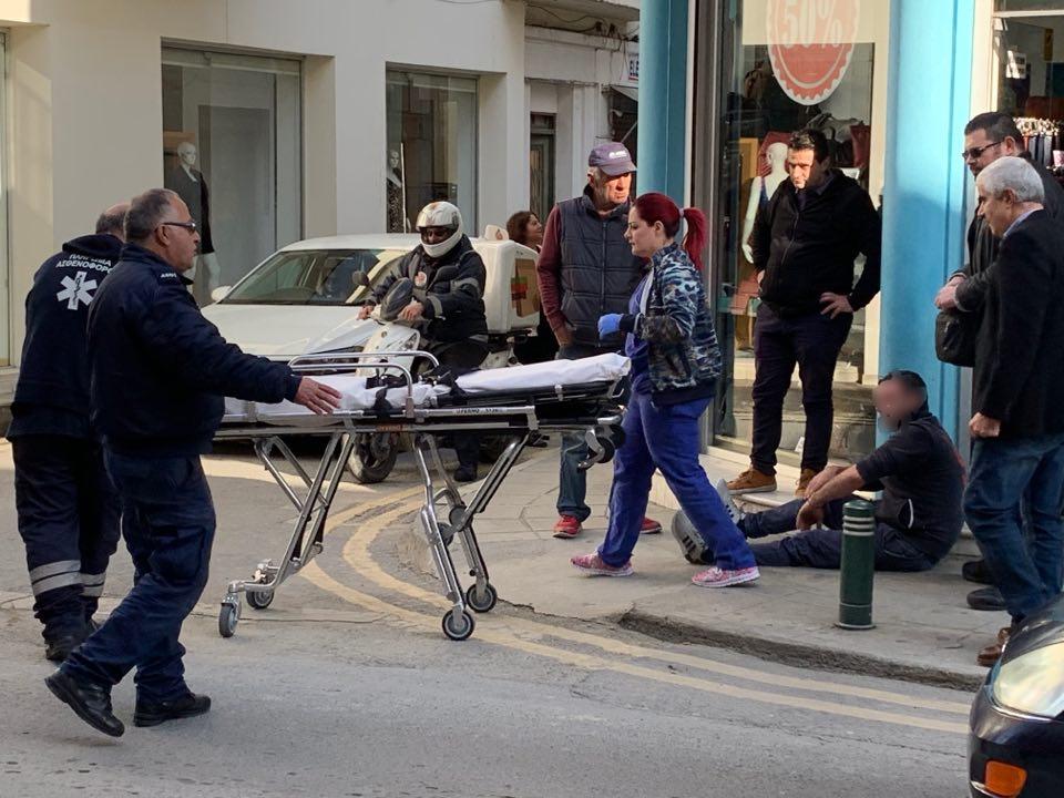 Καταδίωξη άνδρα στο κέντρο της Λάρνακας. Τραυματίστηκε μέλος της Αστυνομίας