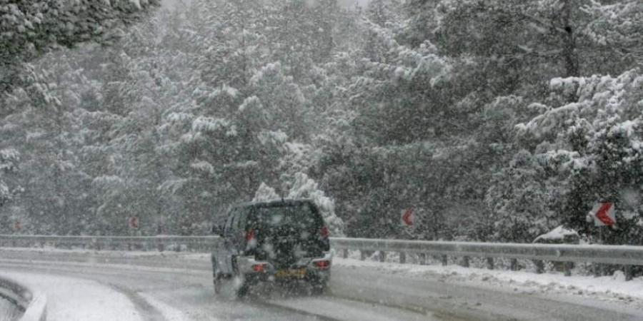 Κλειστοί και επικίνδυνοι δρόμοι λόγω κακοκαιρίας (Ενημέρωση 11:10)