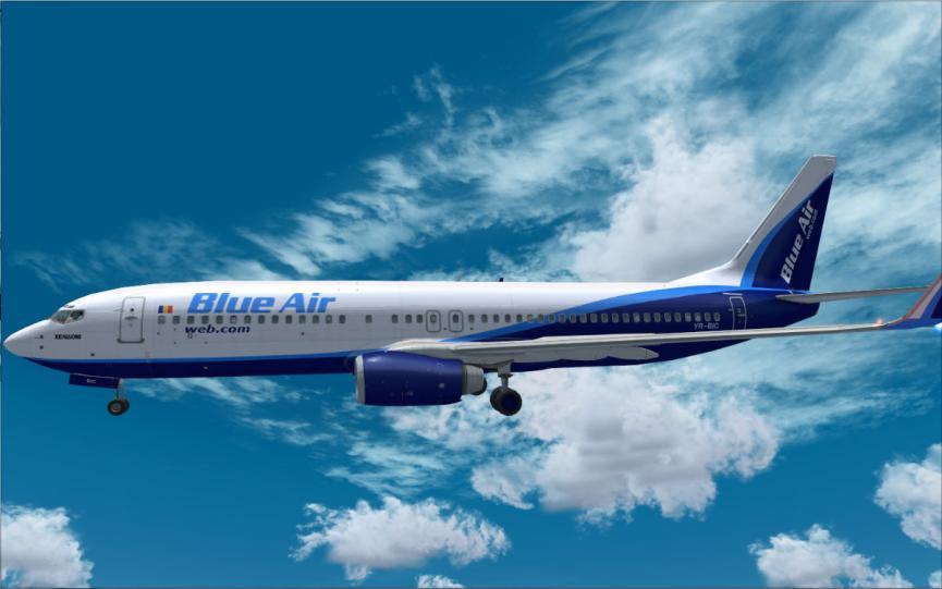 Blueair: Έκπτωση σε όλες τις πτήσεις της
