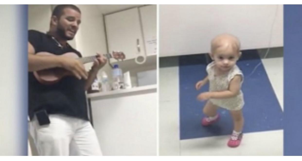 Γιατρός τραγουδάει σε κοριτσάκι με καρκίνο και η μικρούλα χορέυει γεμάτη χαρά! (ΒΙΝΤΕΟ)