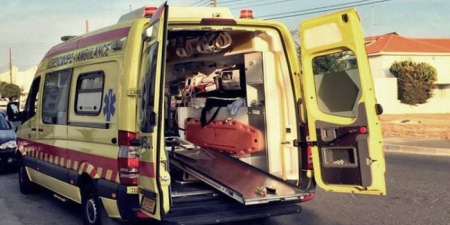 Όχημα παρέσυρε πεζή στη Λάρνακα- Δεύτερο τροχαίο στο ίδιο σημείο