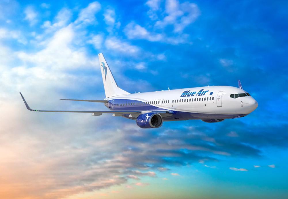 Blue Air και Κυπριακές Αερογραμμές επεκτείνουν την συνεργασία τους για πτήσεις κοινού κωδικού (codeshare).