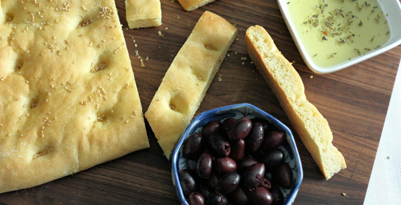 Ένας διάσημος φούρνος σου φτιάχνει λαγάνα με ελιές