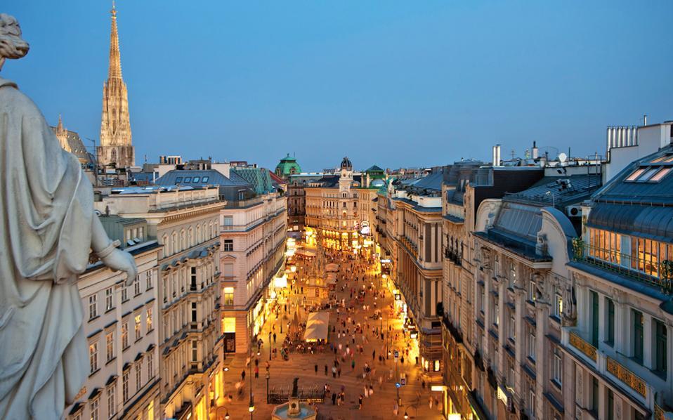 Η Βιέννη η καλύτερη πόλη του κόσμου για να ζεις – Ποια η θέση της Αθήνας