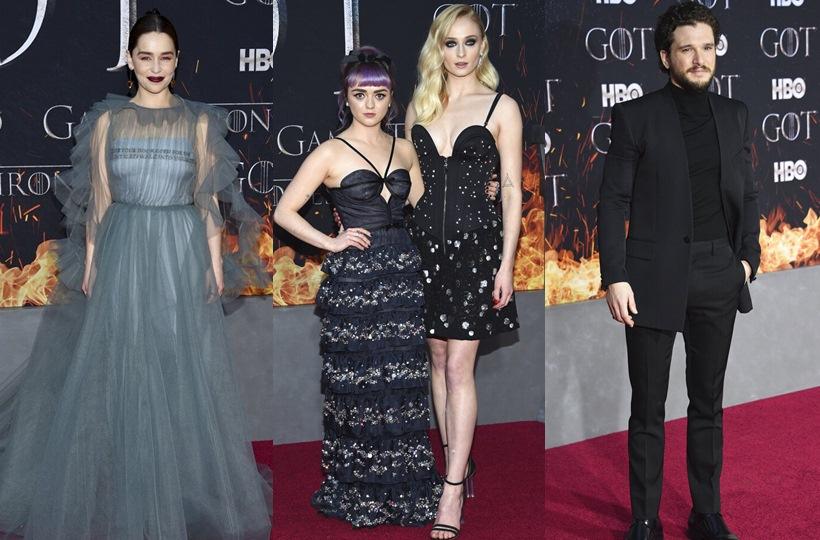 Πραγματοποιήθηκε η μεγάλη πρεμιέρα του Game of Thrones στη Νέα Υόρκη