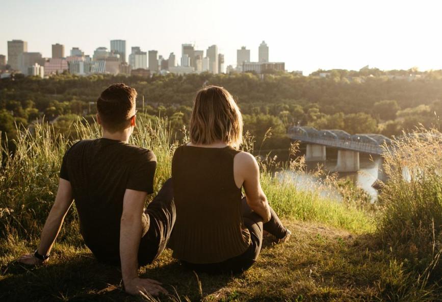 To μυστικό για να είναι κανείς ευτυχισμένος στην πόλη ίσως βρίσκεται στη θέα
