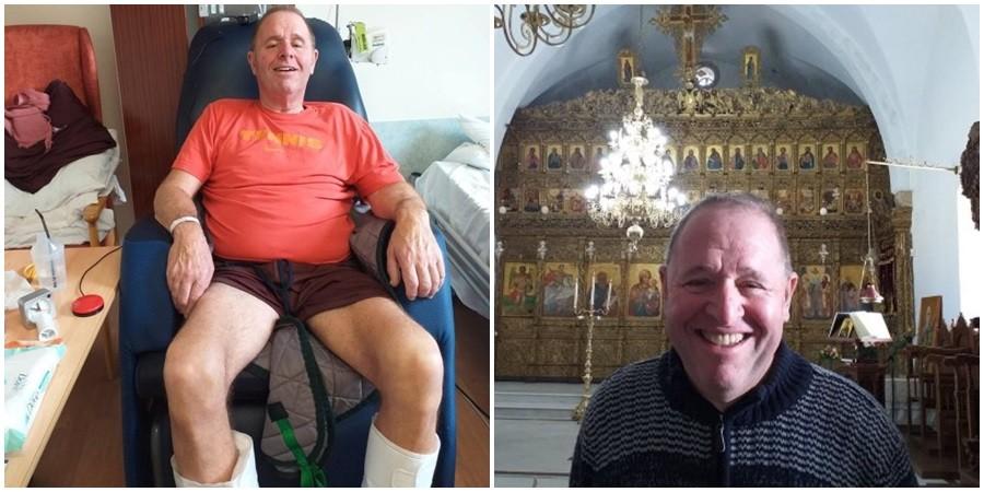 Παραλίγο να μείνει παράλυτος μετά από διακοπές στην Κύπρο (pics)
