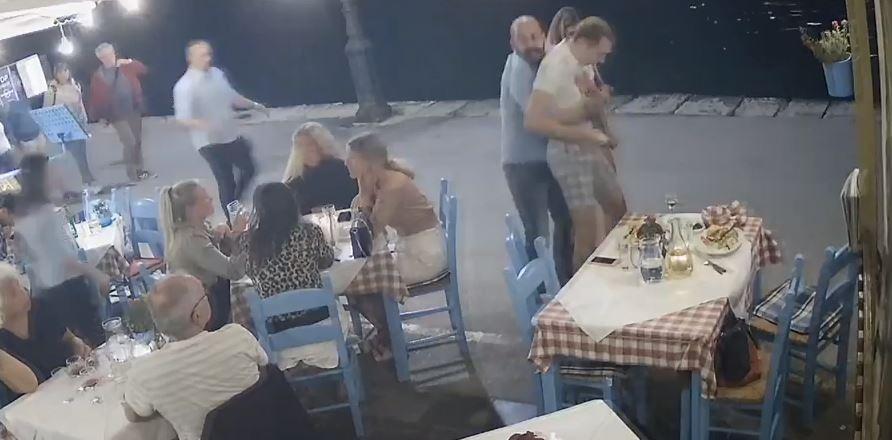 Παραλίγο τραγωδία σε παραλιακή ταβέρνα – Η ψυχραιμία του υπεύθυνου ήταν σωτήρια – VIDEO